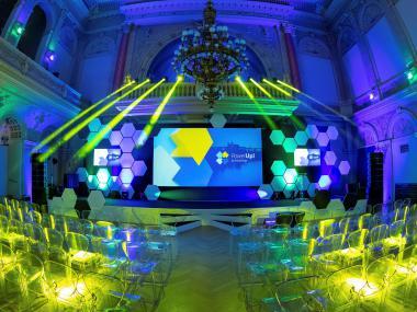 Eventdeco_Žofín_InnoEnergy_scénografie_dekorace_výroba_výstavní stánky