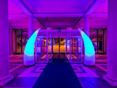 Průmyslový palác - scénografie a realizace | Event Deco
