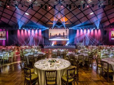 Průmyslový palác - scénografie a realizace   Event Deco